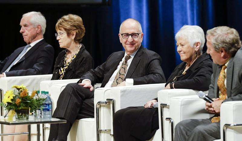 Past and present University of Iowa presidents recount tragedies as transformative