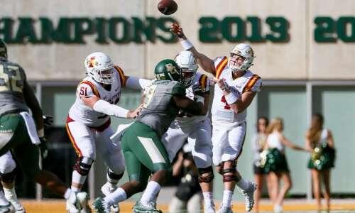 Iowa State-Kansas State features duel of backup quarterbacks