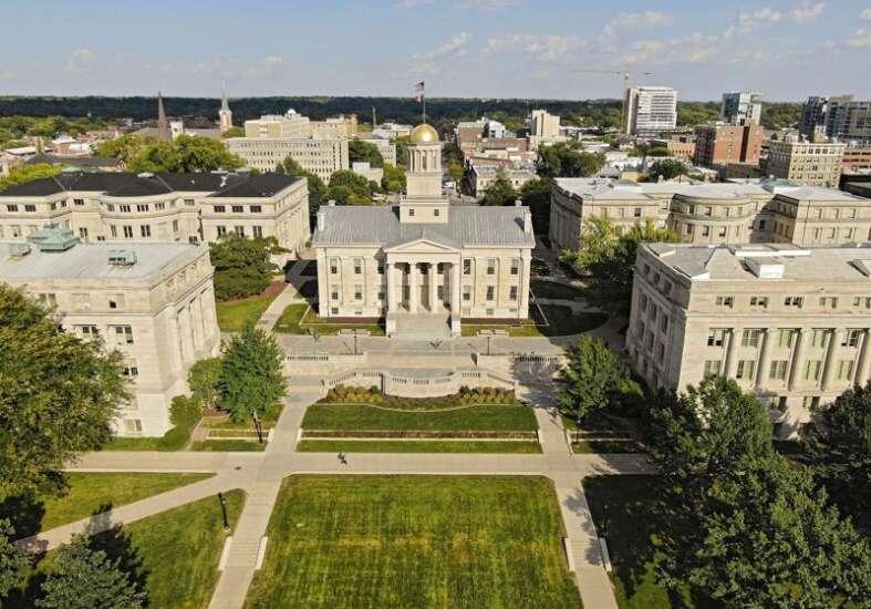 Address tenure decline at Iowa's public universities