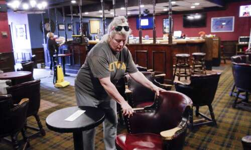 As bars reopen in Iowa, expect drinking but not dancing