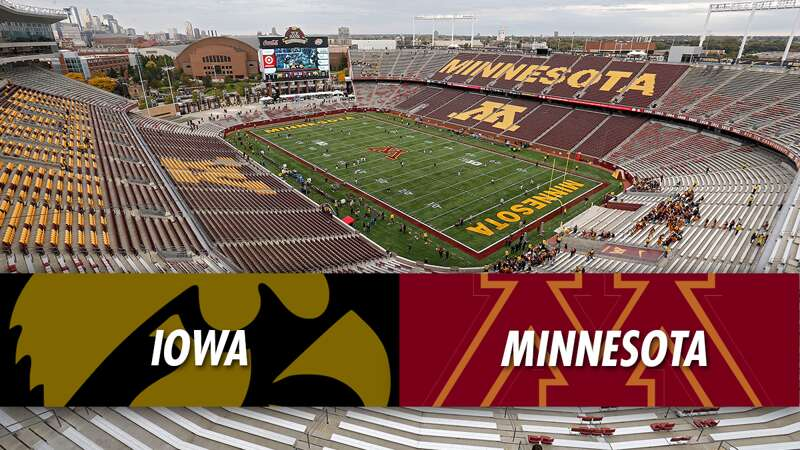 Play Action: Iowa Hawkeyes at Minnesota Golden Gophers