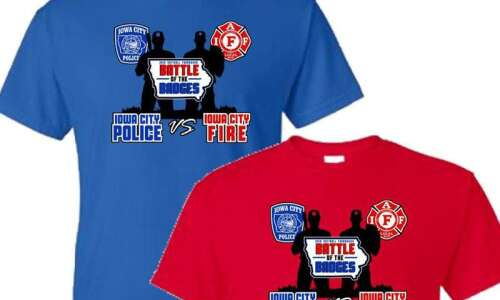 'Battle of the Badges' to benefit Iowa City police, fire…