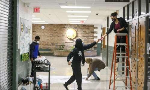 Iowa City West High students start celebrating Black History Month