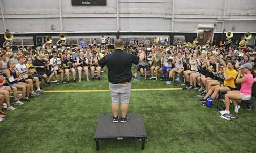 9 questions for the new Hawkeye Marching Band director
