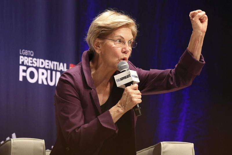 Elizabeth Warren first choice in new poll, but most Iowa caucusgoers undecided
