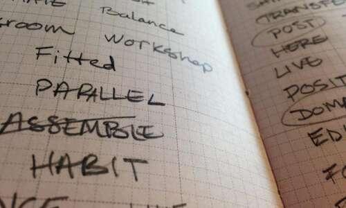 On Topic: Writing stuff down