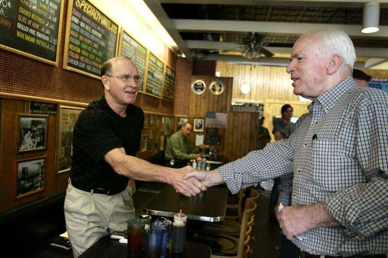Iowa City diner's popularity as political venue grew out of marketing ploy