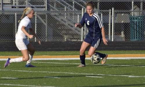 Regina flies past No. 12 Solon in girls' soccer substate…