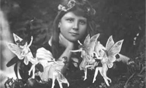 Are fairies real? Two little girls once made many believe