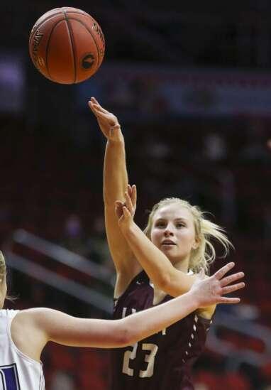 Photos: North Linn vs. Nodaway Valley, Iowa Class 2A girls' state basketball tournament quarterfinals