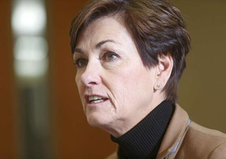 Gov. Kim Reynolds stands pat on Iowa's medical cannabidiol THC cap