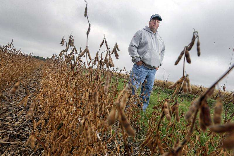 Some Iowa farmers push for law prohibiting crops near rivers, streams