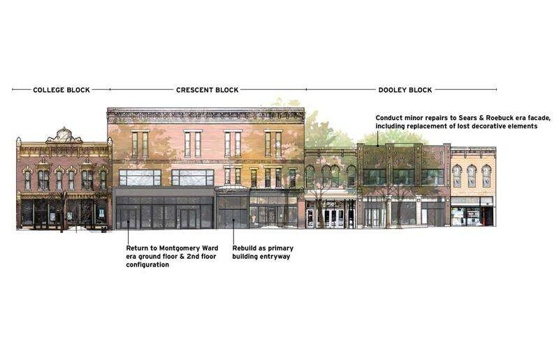 City leaders praise proposed Ped Mall apartment building for preservation, revitalization potential