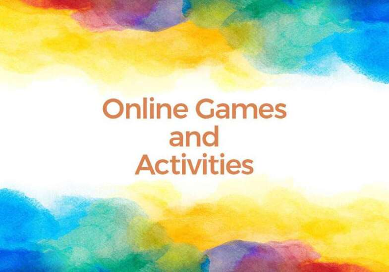 Online games and activites