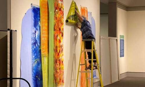 Mary Zeran opens first solo show at Cedar Rapids Museum…