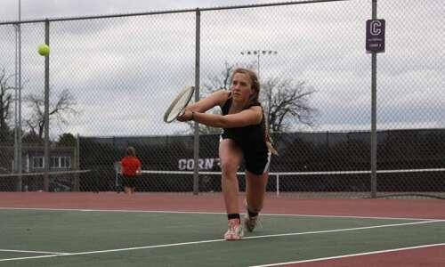 Mount Vernon's Wynne Vandersall discovers a love of tennis