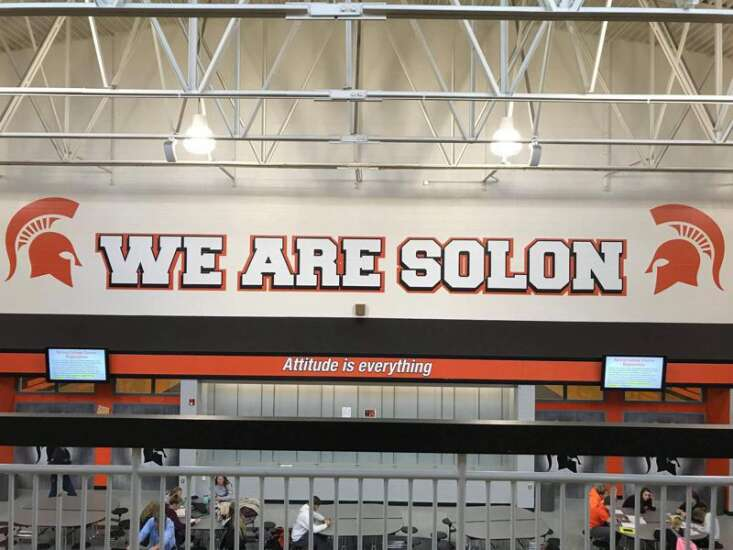 Solon literally goes down the hallway to find new boys' basketball coach