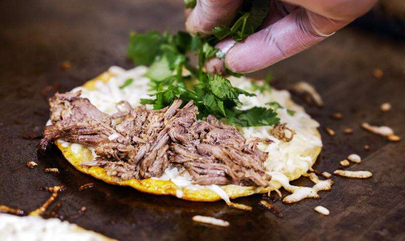 'Taco God' hopes to open a restaurant featuring his signature dish