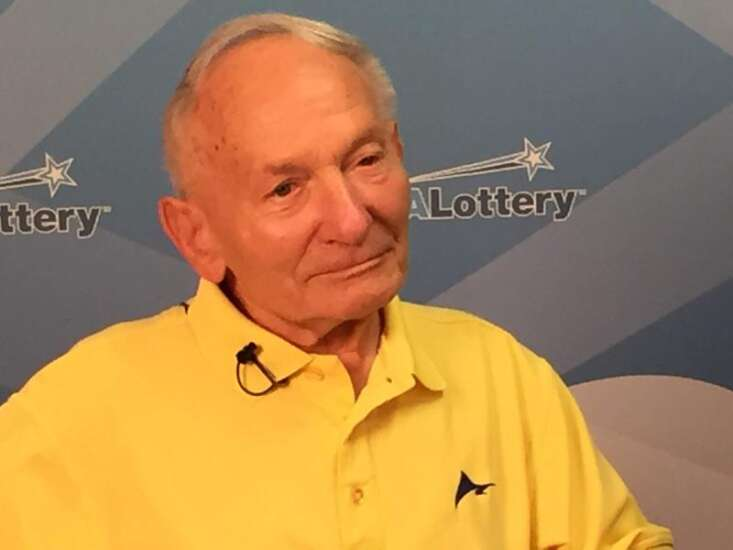 At 92, North Liberty man wins 'Lucky for Life' prize