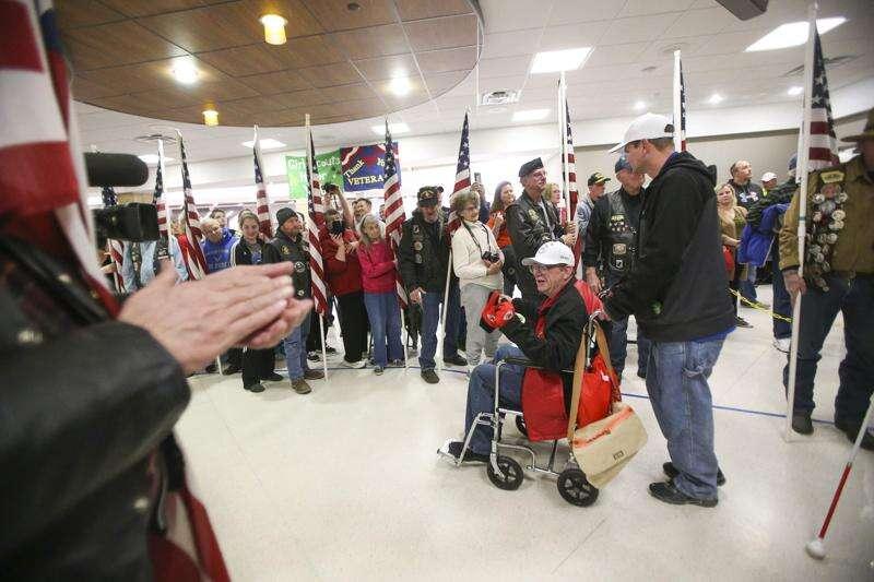 Help welcome back Eastern Iowa Honor Flight veterans Tuesday evening