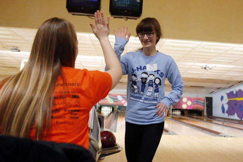 Photos: Hundreds compete in Special Olympics state bowling