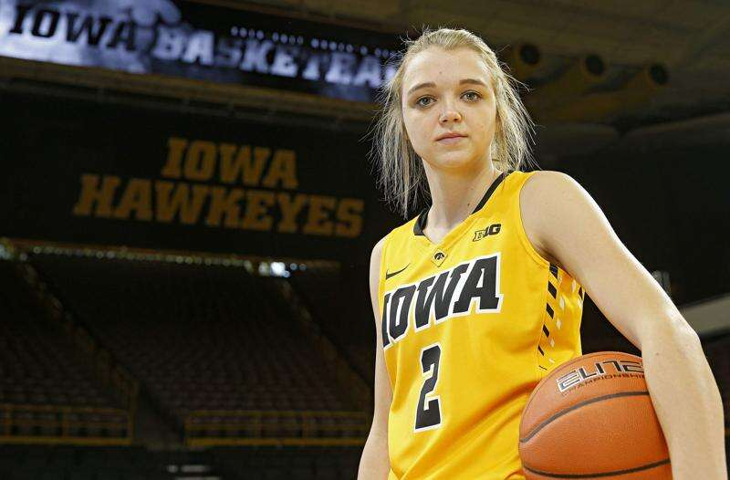 Perfection eludes Iowa's Ally Disterhoft, and so does satisfaction