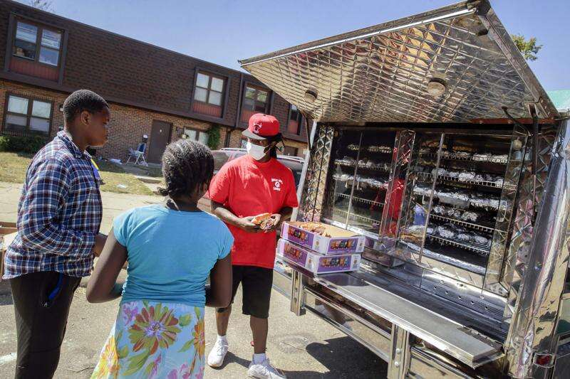 Willie Ray's Q Shack has served thousands of free meals since the Iowa derecho