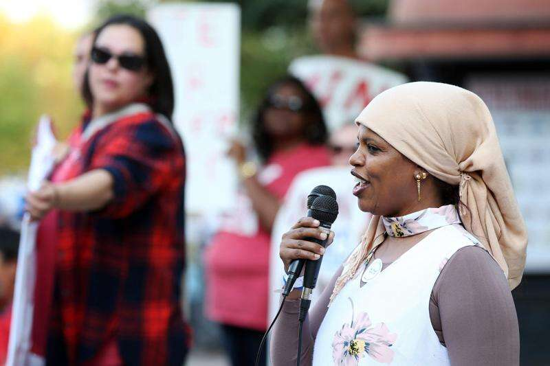 Iowa City rally highlights setbacks to immigrants and workers