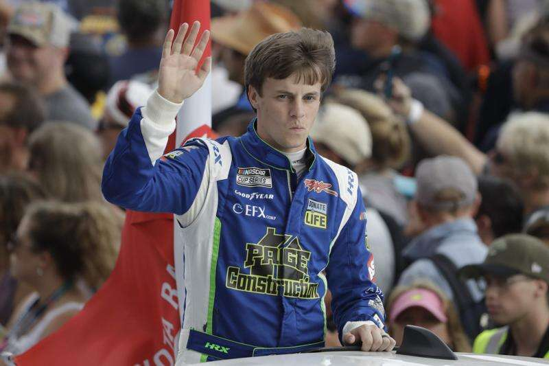 For NASCAR drivers like Joey Gase of Cedar Rapids, racing is the easy part