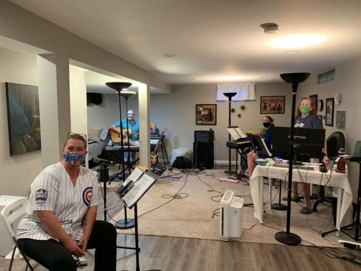 Rothrock & Friends livestreaming performance from Opus Concert Cafe