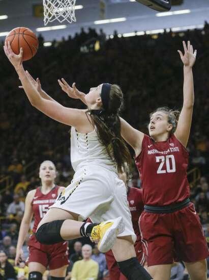 Iowa women's basketball 2016-17 ... not good, not bad, not memorable