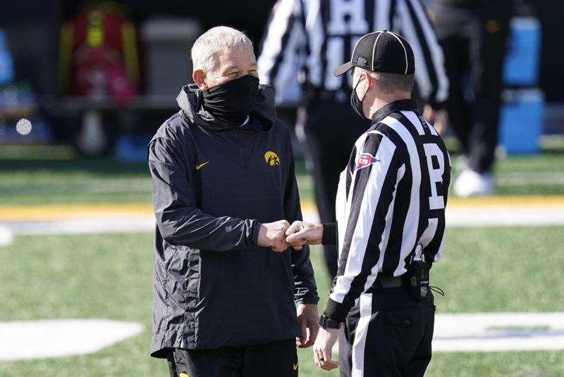 Iowa football coach Kirk Ferentz tests positive for COVID-19