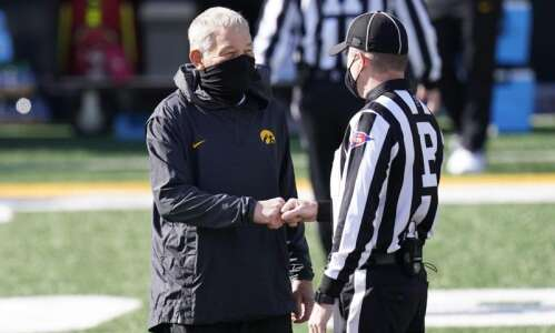 Iowa football coach Kirk Ferentz tests positive for COVID-19