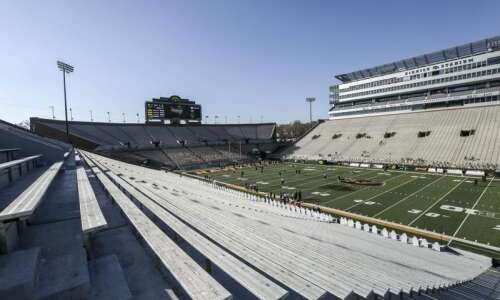 Iowa universities tapping football stadiums for in-person graduation events