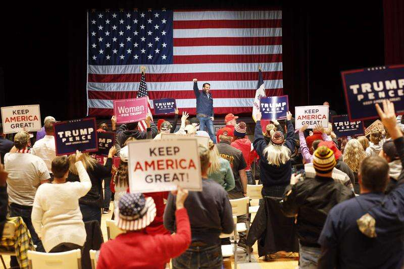 Trump Jr. in Cedar Rapids: Too much at stake to not re-elect father