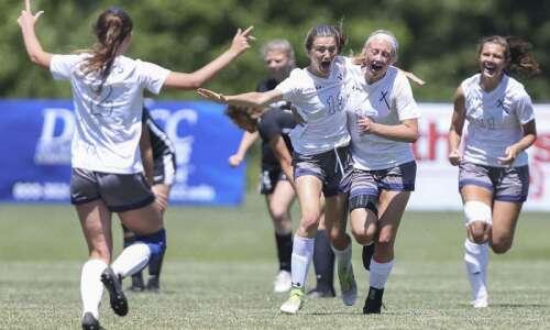 Ella Kluesner's OT goal gives Cedar Rapids Xavier its 10th…