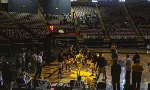 Photos: Iowa men's basketball vs. Minnesota