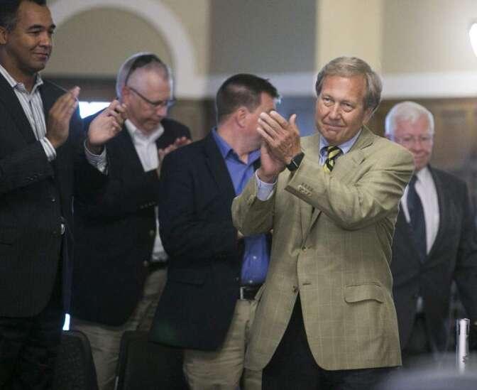 Bruce Harreld named 21st University of Iowa president