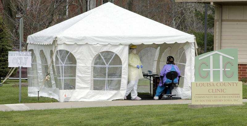 Iowa reports no new coronavirus deaths Sunday