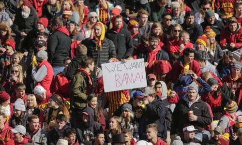 Iowa State is No. 15 in first College Football Playoff…