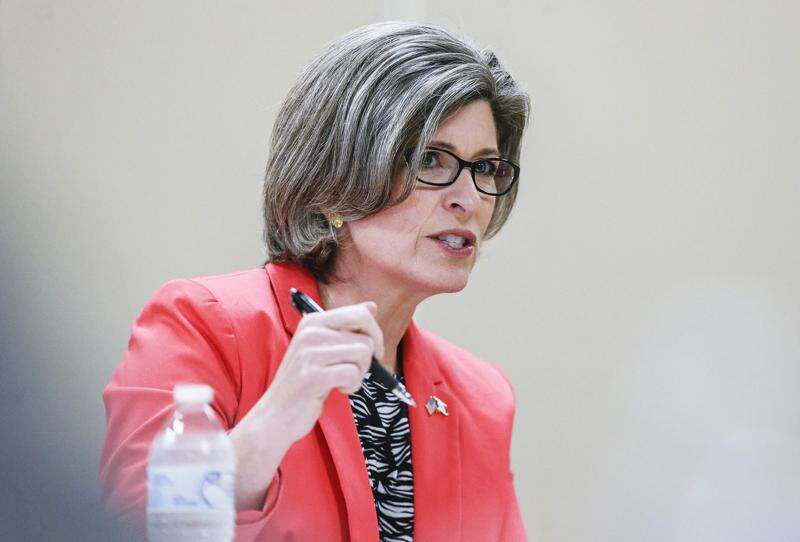 Sen. Joni Ernst won't endorse Rep. Steve King in 4th District GOP primary