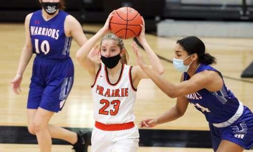 Photos: C.R. Washington vs. C.R. Prairie, Iowa high school girls'…