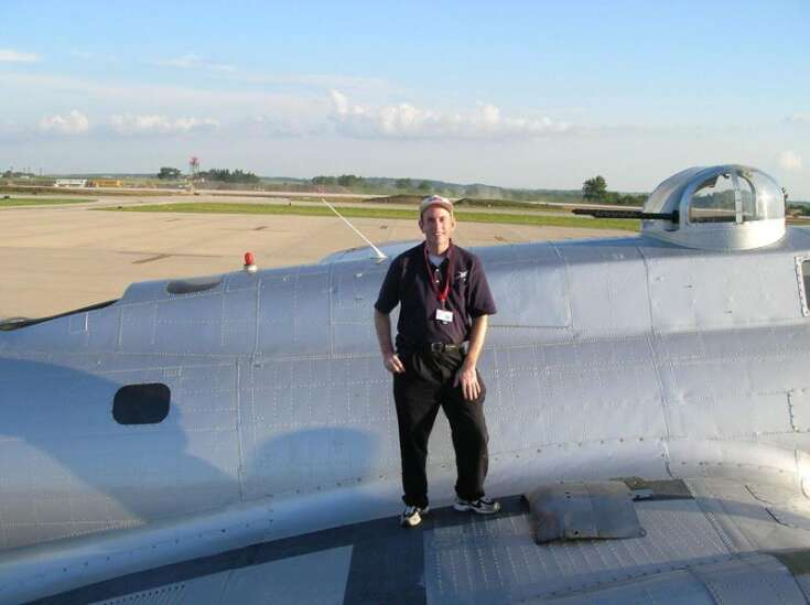 Hop on my wings: Cedar Rapids pilot shares his love of flying with more than 500 area kids