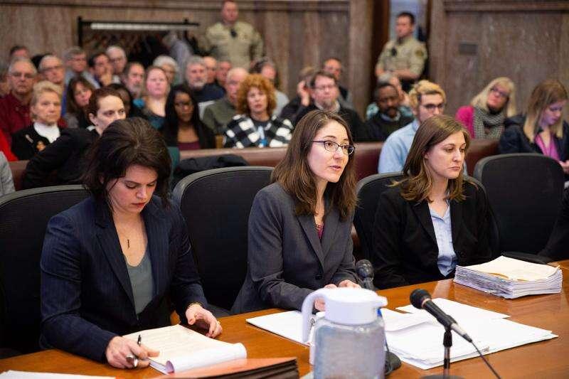 Iowa 'fetal heartbeat' abortion law has day in court