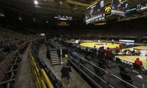 Photos: Iowa Hawkeyes wrestling vs. Nebraska Cornhuskers