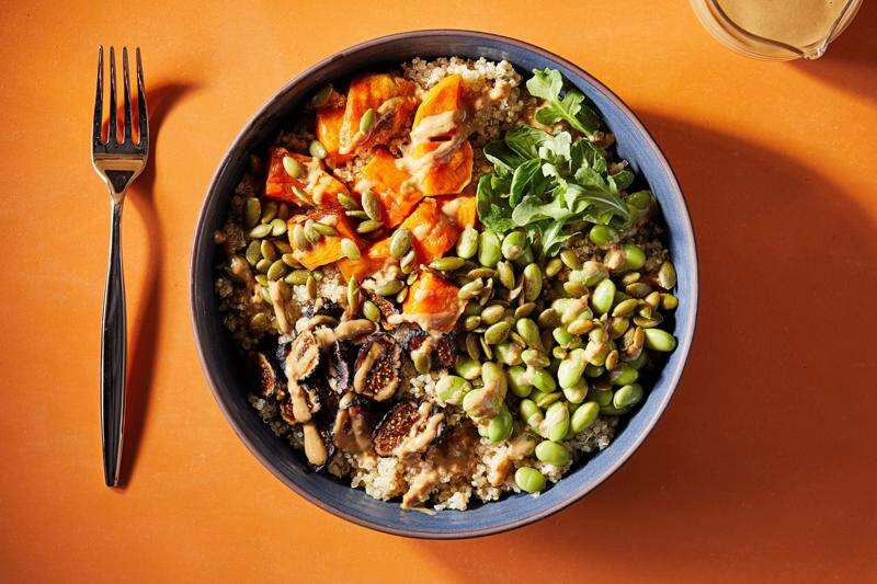 Bring color and balance to dinner with these healthy grain bowls