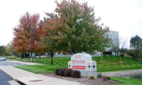 Toyota Financial Services to relocate Cedar Rapids customer service center…