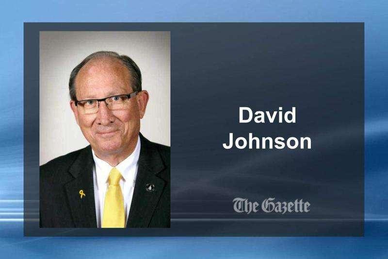 David Johnson, first independent in Iowa Senate since 1926, won't seek re-election