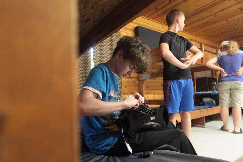 Sunburns and shots: Popular Camp Wapsi adjusts vaccine policy