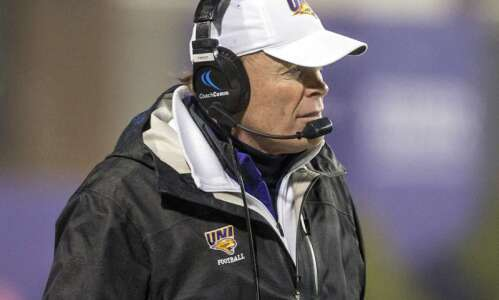 UNI football opens preseason camp in prep for spring FCS…